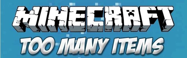 Minecraft TooManyItems Mod