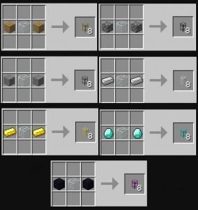 BuildCraft Pipes Recipe 2