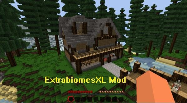 ExtrabiomesXL Mod 1.10.1/1.9.4/1.8.9