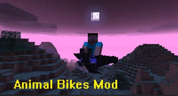 Animal Bikes Mod