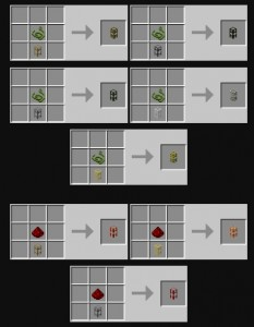 BuildCraft Pipes Recipe