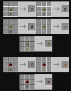 BuildCraft Pipes Recipe