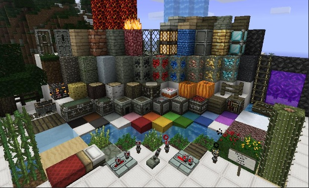Dokucraft Texture Pack 1.10.1/1.9.4/1.8.9