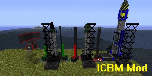 ICBM Mod for Minecraft 1.12.2/1.11.2