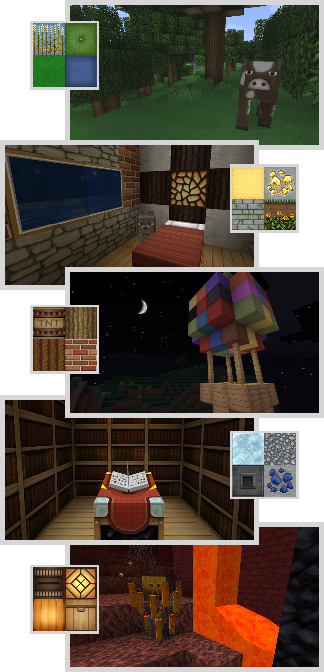 Soartex Fanver Texture Pack Preview