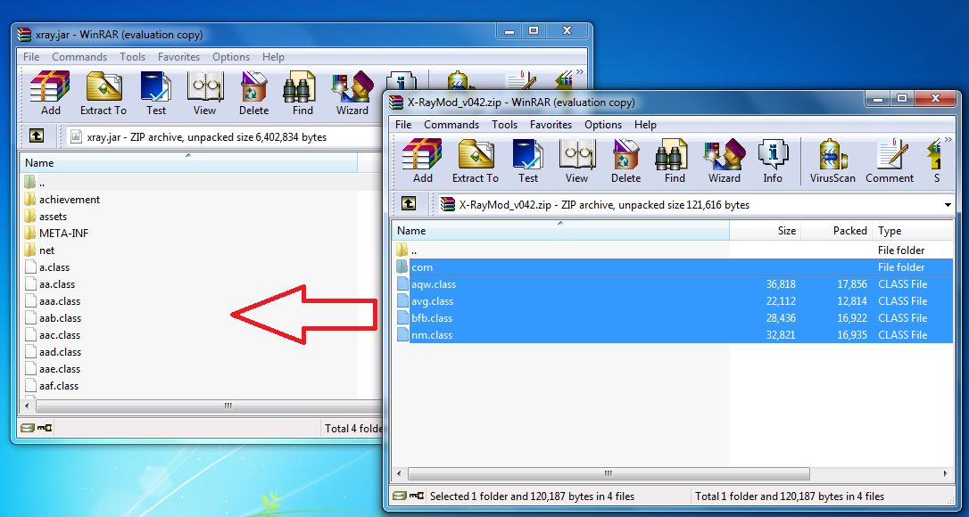 how to turn a winrar file into a zip