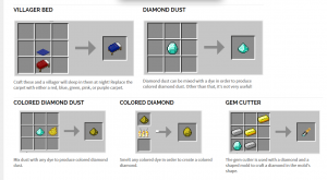 Minecraft. Рецепты как создавать предметы, крафтинг (Сайт ...