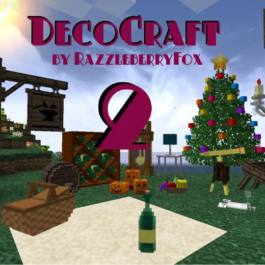 Decocraft 2 Mod 1.11.2/1.10.2