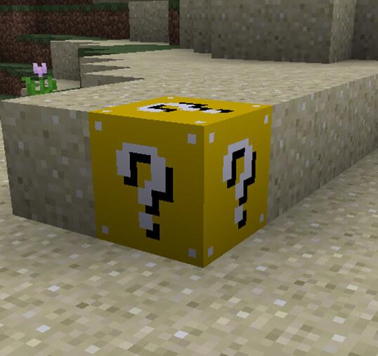 Lucky Block Mod 1.10.1/1.9.4/1.8.9