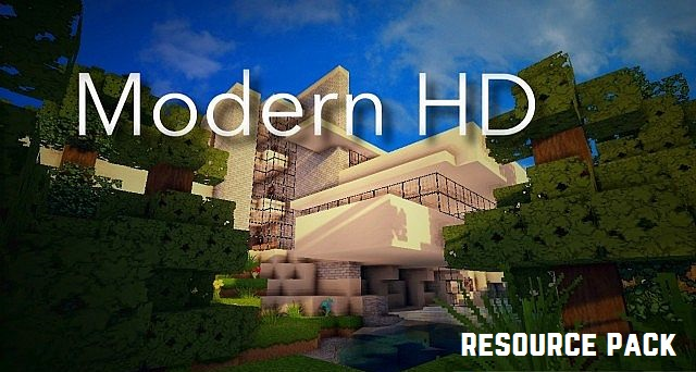 Modern HD Resource Pack 1.11.2/1.10.2/1.9.4/1.8.9