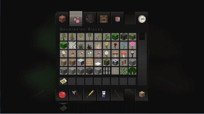 Inventory in Minecraft