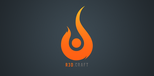 R3D Craft_resource_pack 1.11.2/1.10.2/1.9.4/1.8.9