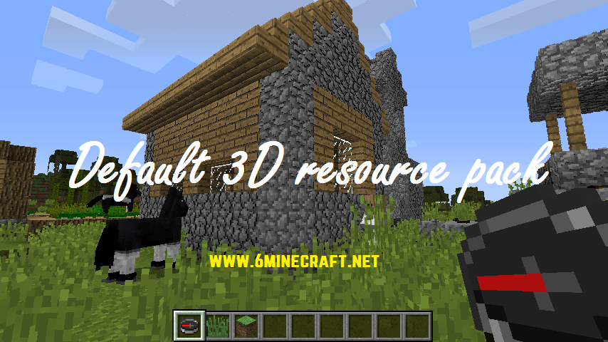 Default 3D Resource Pack 1.12.2/1.11.2
