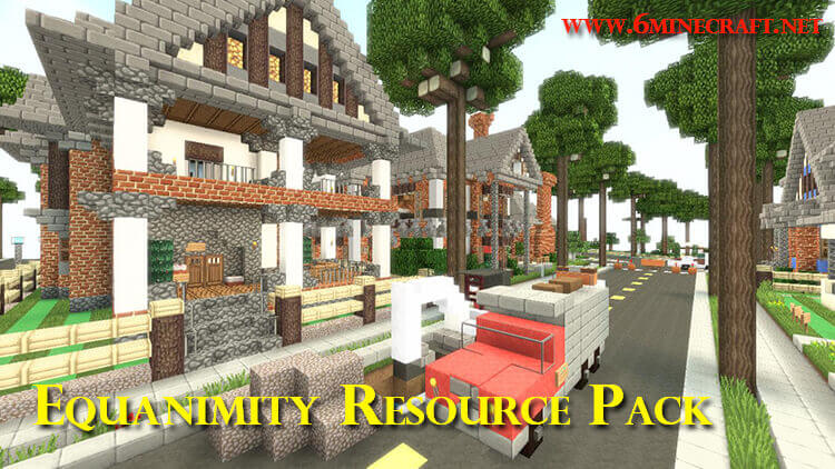 Equanimity Resource Pack 1.10.1/1.9.4/1.8.9