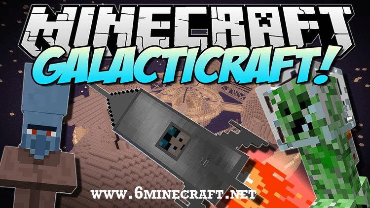 Galacticraft Mod 1.10.1/1.9.4/1.8.9
