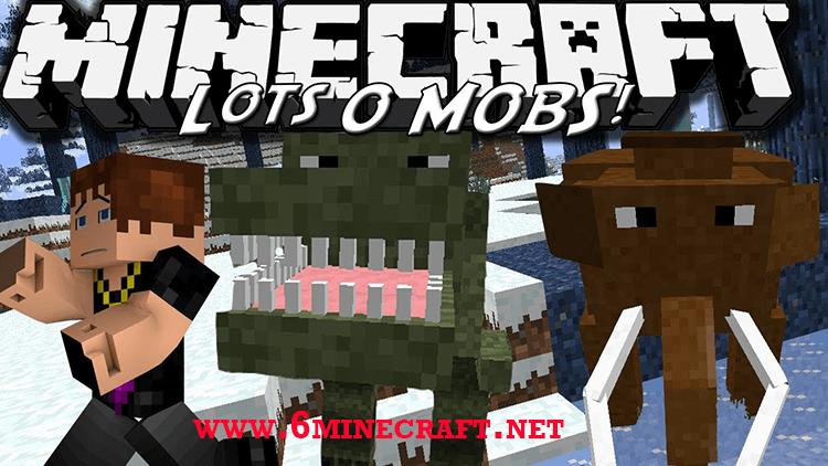 LotsOMobs Mod 1.12.2/1.11.2