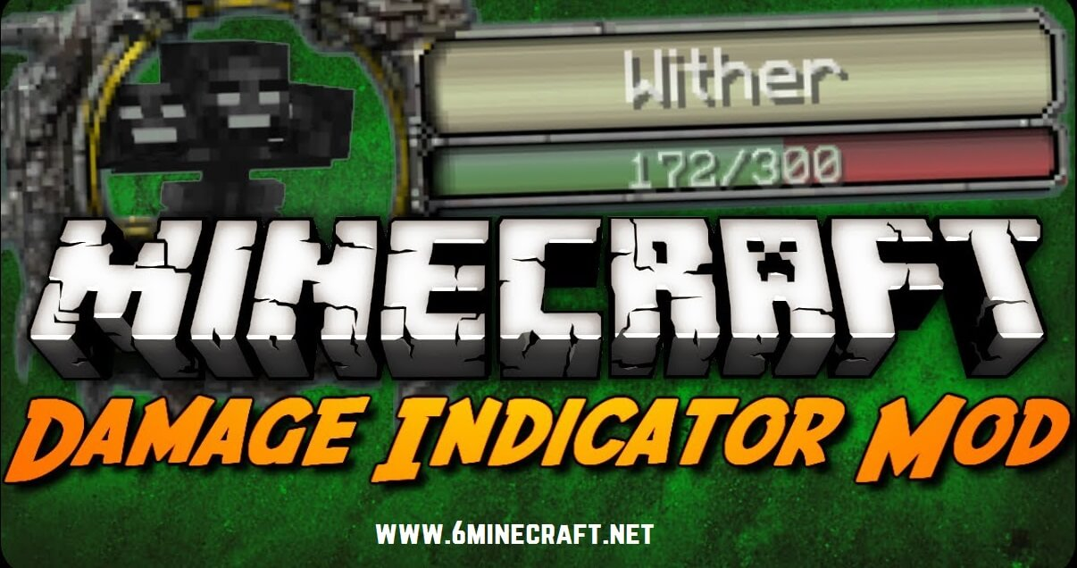 Damage Indicator Mod 1.11.2/1.10.2