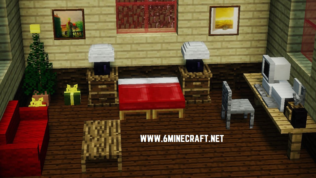 Furniture mod 6minecraft Living room furniture minecraft