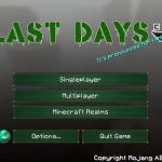last-days-main-menu