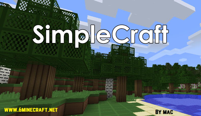 Simplecraft Resource Pack 1.10.1/1.9.4/1.8.9