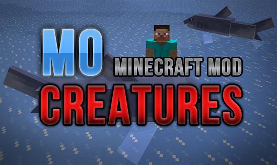 mo' creatures mod 1.12.2/1.11.2