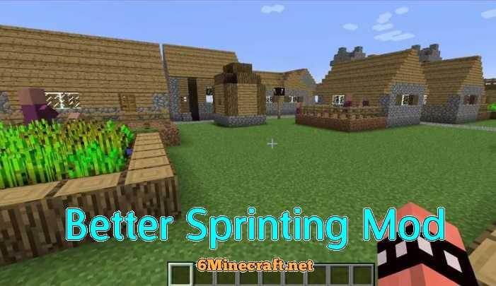 Better Sprinting Mod 1.9.4