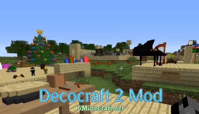 Скачать мод на майнкрафт decocraft 2