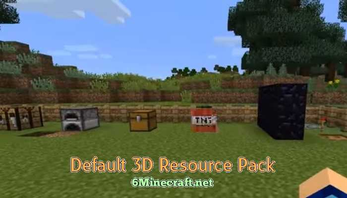 Default 3D Resource Pack 1.9.4