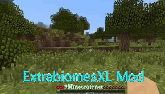ExtrabiomesXL Mod 1.9.4
