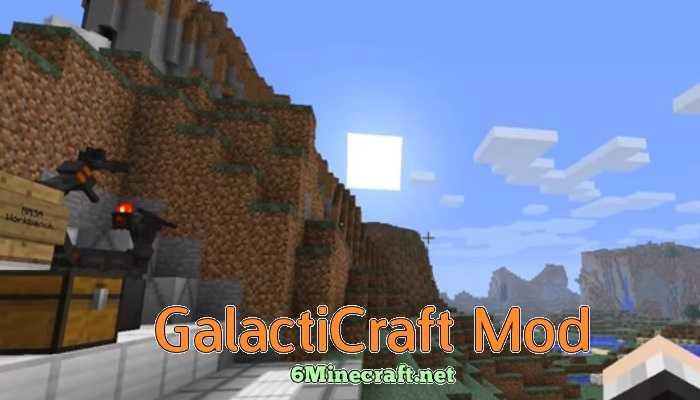 Galacticraft Mod 1.10/1.9.4/1.9/1.8.9