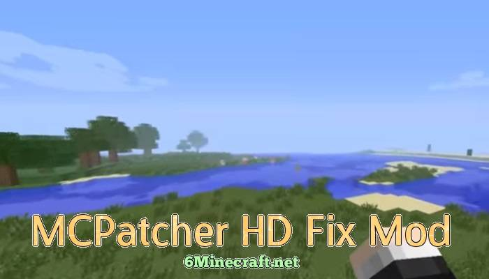 MCPatcher HD Fix Mod 1.9.4