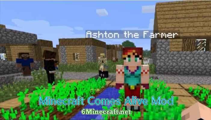 Minecraft Comes Alive Mod 1.9.4