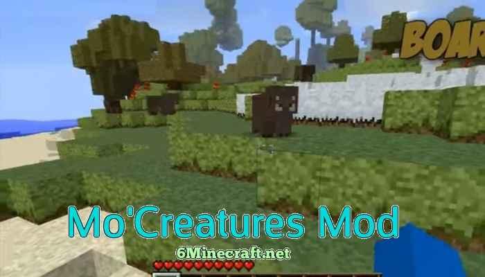 Mo' Creatures Mod 1.9.4