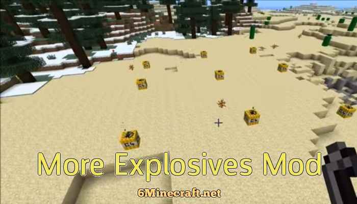 More Explosives Mod 1.9.4
