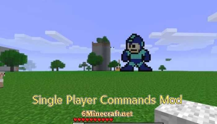 Single Player Commands Mod 1.9.4
