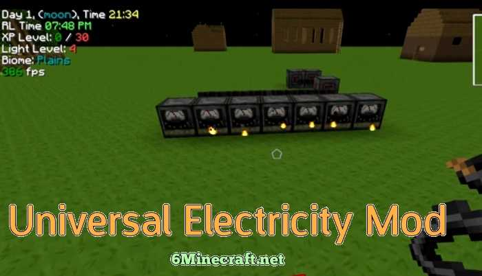 Universal Electricity Mod 1.9.4